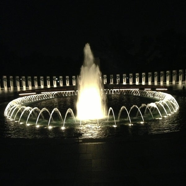 Photo taken at World War II Memorial by Michelle M. on 6/27/2013