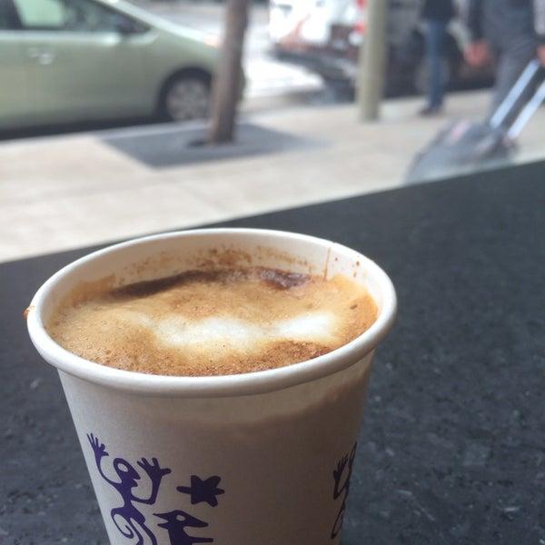 Photo taken at Peet's Coffee & Tea by DANYAH on 4/24/2014