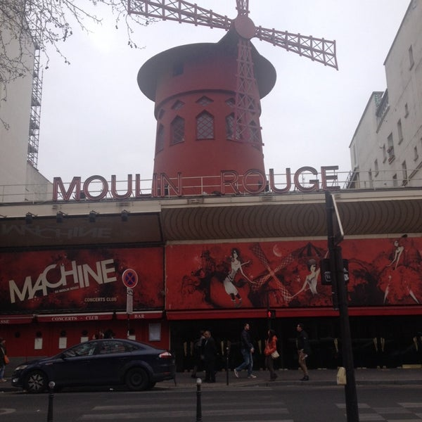 Photo taken at Moulin Rouge by Olga P. on 3/17/2014