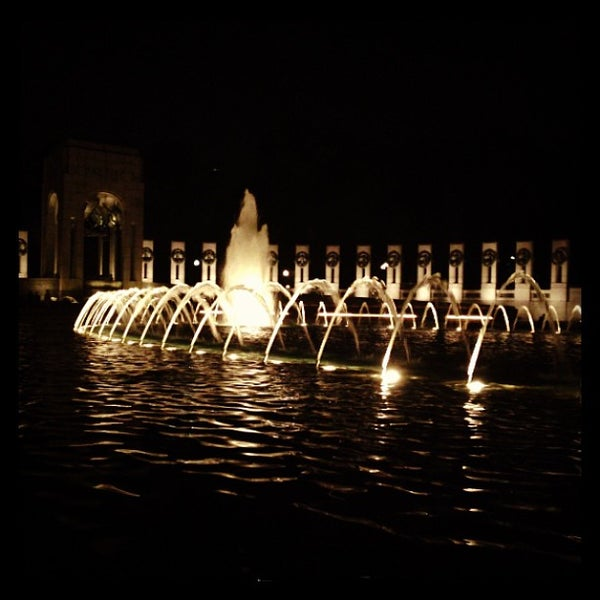 Photo taken at World War II Memorial by Zea S. on 7/18/2013