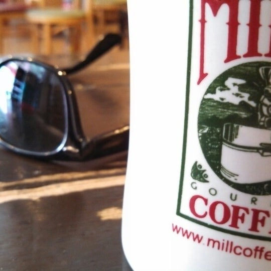 Photo taken at The Mill Coffee & Tea by Justin F. on 3/30/2013