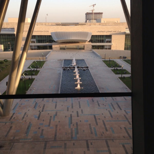 Photo taken at Qatar Science and Technology Park by Simone E. on 5/18/2013