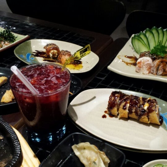 Photo taken at Joy Sushi by Sylmara C. on 5/29/2015