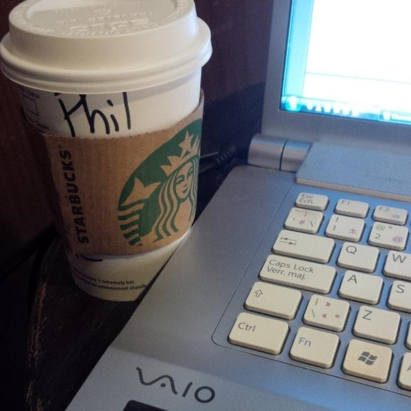 Photo taken at Starbucks by Phil B. on 10/6/2013