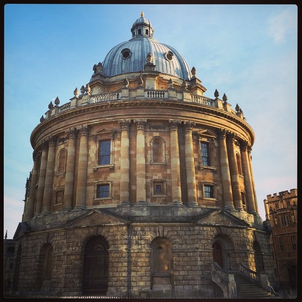 Photo taken at Radcliffe Camera by Giovanni S. on 4/11/2015