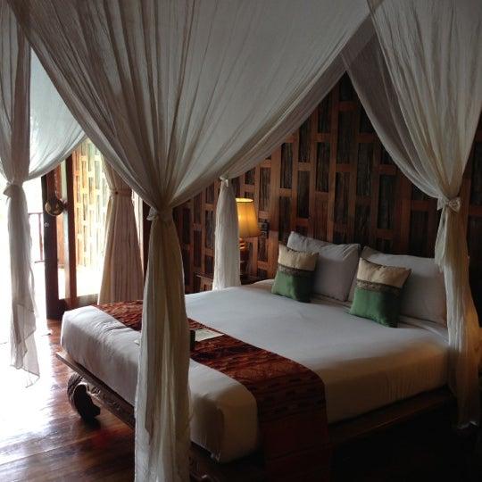 Photo taken at Santhiya Resort And Spa Koh Phangan by Peter C. on 10/6/2012