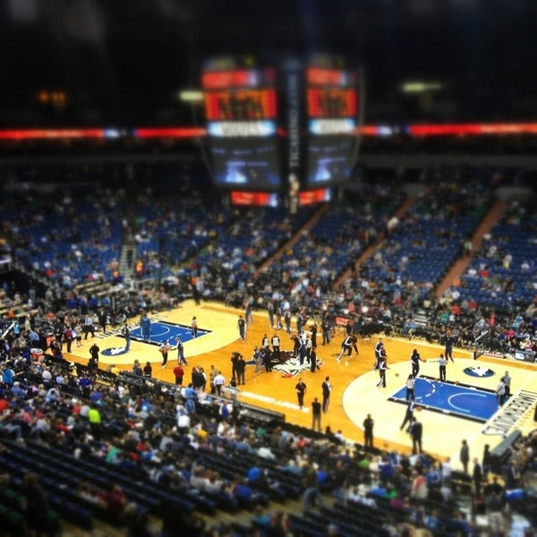 Photo taken at Target Center by Andrew B. on 11/22/2012