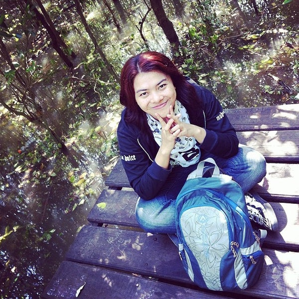 Photo taken at Ekowisata Mangrove by Tina B. on 5/27/2014