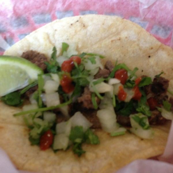 Photo taken at Tia Cori's Tacos by Trish K. on 1/22/2013