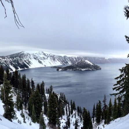 Photo taken at Crater Lake National Park by Inga K. on 12/23/2013