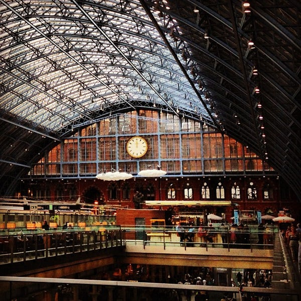Photo taken at London St Pancras International Railway Station (STP) by Kurt W. on 7/5/2013