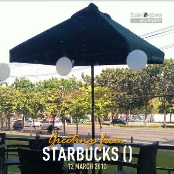Photo taken at Starbucks by Patrix N. on 3/12/2013