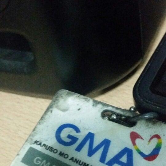 Photo taken at GMA Network Center by Joe K. on 1/29/2015