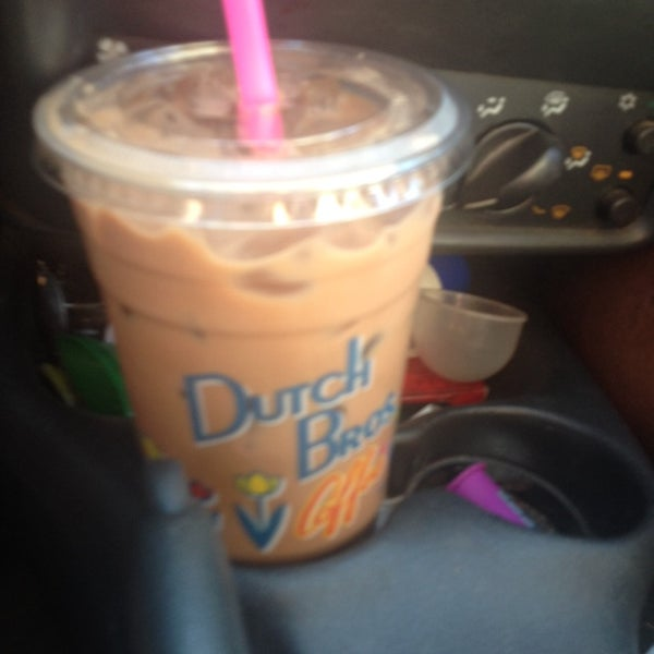 Photo taken at Dutch Bros. Coffee by Christina C. on 5/17/2014
