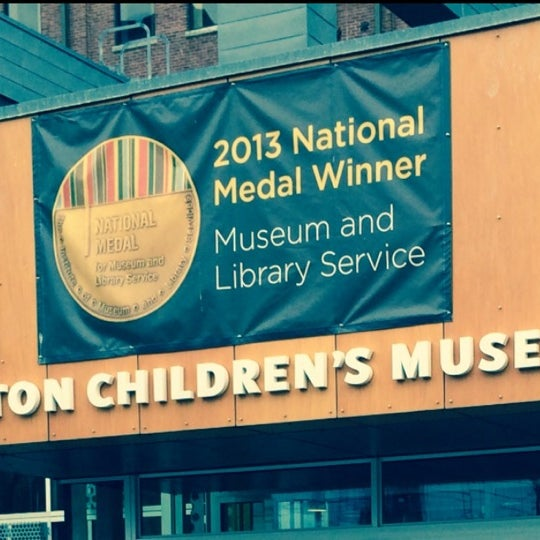 Photo taken at Boston Children's Museum by Osama F. on 4/14/2014