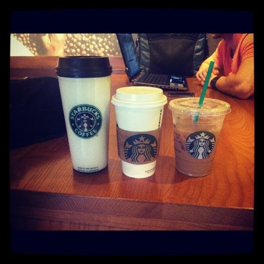 Photo taken at Starbucks by Maggie M. on 10/17/2012