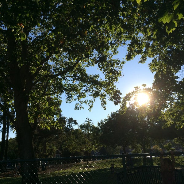 Photo taken at Burton Park by Sibilla C. on 8/6/2015