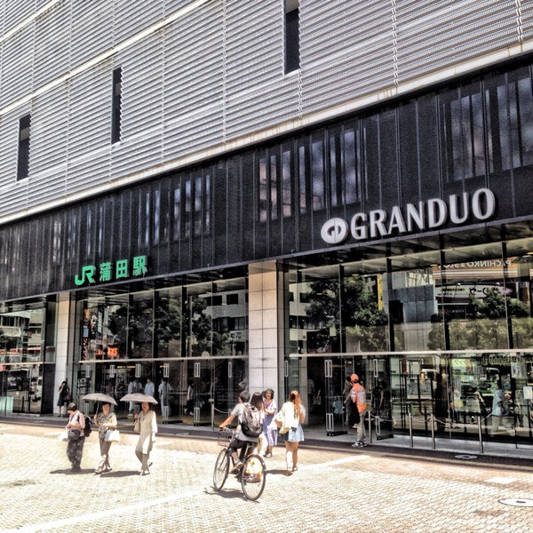 Photo taken at GRANDUO Kamata by nag on 8/2/2014