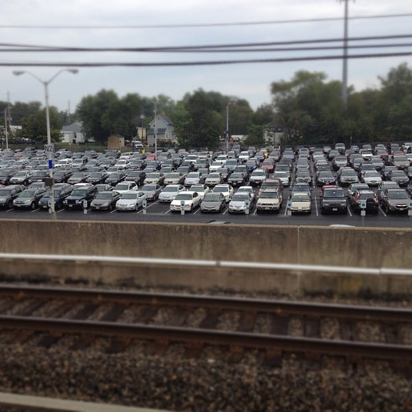 Photo taken at PATCO: Ashland Station by Jeff K. on 10/4/2012