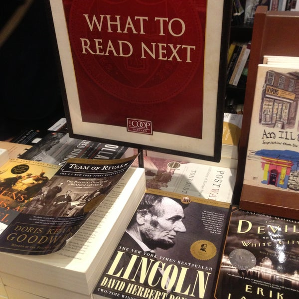 Photo taken at Harvard Coop Society Bookstore by Kimberly B. on 5/1/2013