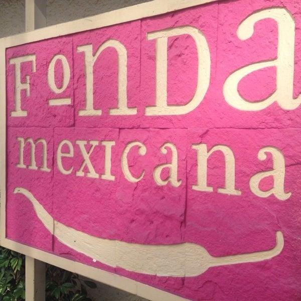Photo taken at Fonda Mexicana by Rodrigo L. on 11/30/2013