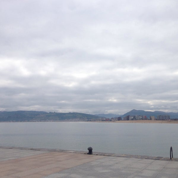 Photo taken at Santoña by Anna S. on 1/4/2015