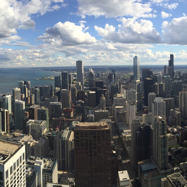 Less crowded then the Sears tower, sick views, 15-20$ to go up