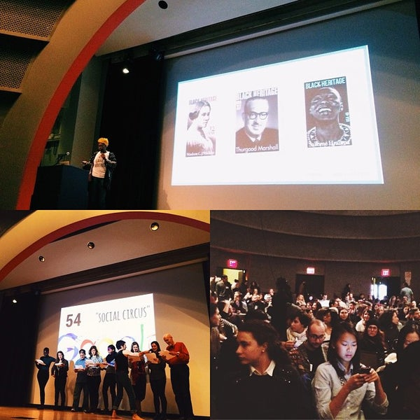 Photo taken at The New School Auditorium at 66W 12th by Emily L. on 12/5/2014