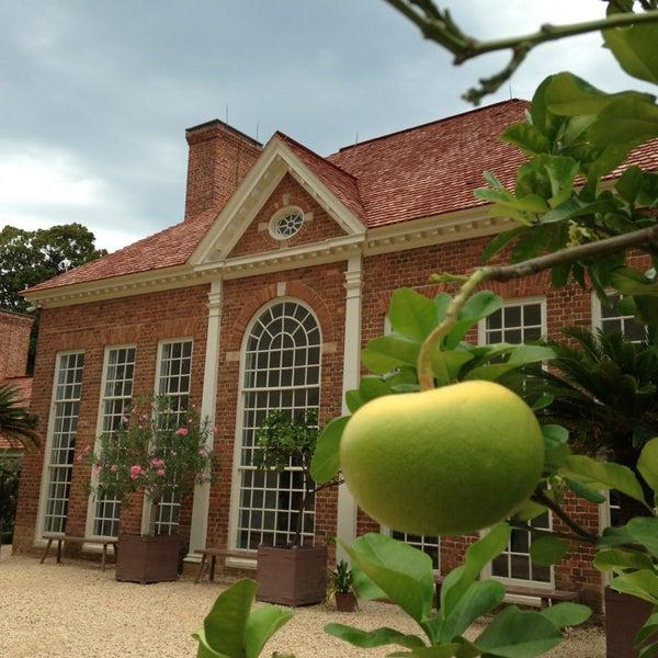 Photo taken at George Washington's Mount Vernon Estate, Museum & Gardens by Lynn P. on 7/24/2013