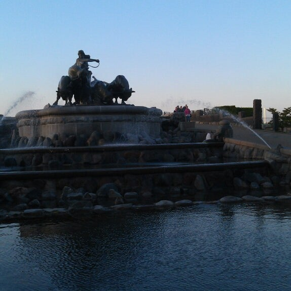 Photo taken at Gefionspringvandet (Gefion Fountain) by Роман Ш. on 5/16/2013