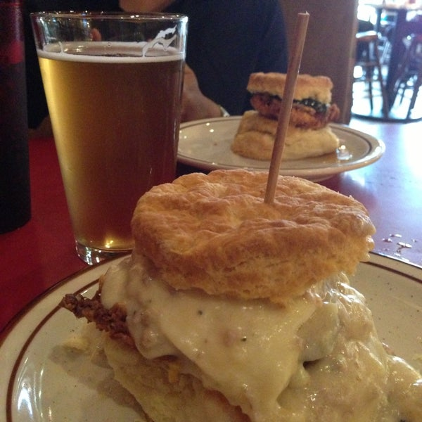 Photo taken at Denver Biscuit Company by Jolly F. on 6/17/2013