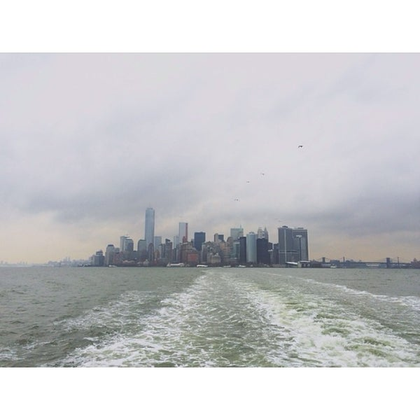 Photo taken at New York Harbor by Sean G. on 12/14/2013