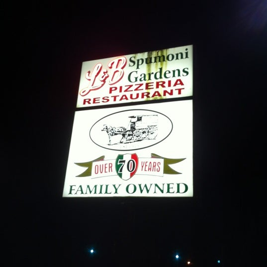 Photo taken at L&B Spumoni Gardens by Theresa✨🐘 on 10/13/2012