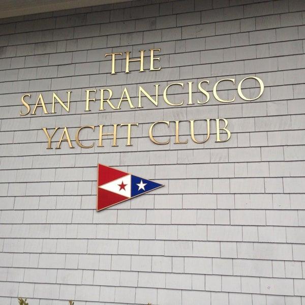 Photo taken at San Francisco Yacht Club by Enrico B. on 3/29/2014