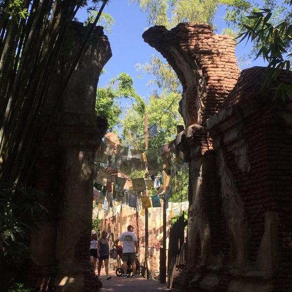 Photo taken at Maharajah Jungle Trek by Shayla K. on 7/28/2016