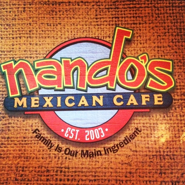 Photo taken at Nando's Mexican Cafe by Ellen S. on 3/5/2014