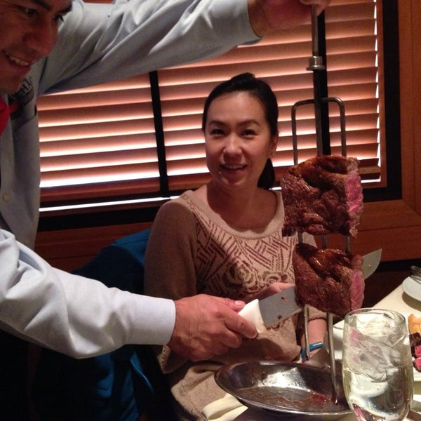 Photo taken at Fogo de Chão Churrascaria by Ian M. on 11/26/2013