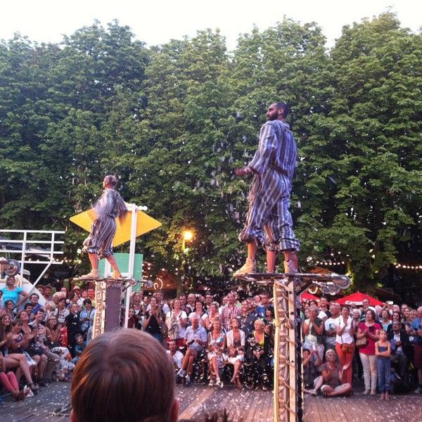 Photo taken at Festivalplein Theaterfestival Boulevard by Wouter F. on 8/3/2013