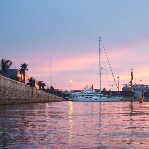 Photo taken at Port de Tarragona by Juanjo F. on 9/12/2015