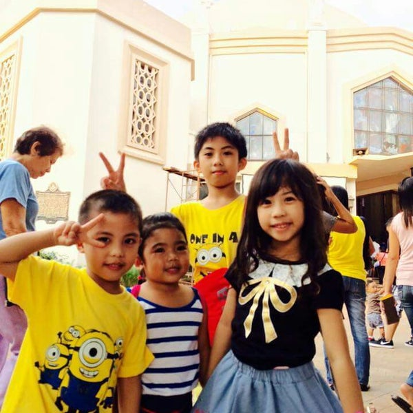 Photo taken at National Shrine of Our Lady of Peace and Good Voyage (Antipolo Cathedral) by Erickson M. on 6/28/2015