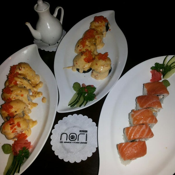 Photo taken at Nori The Japanese Kitchen Lounge by Yeslin F. on 9/22/2013