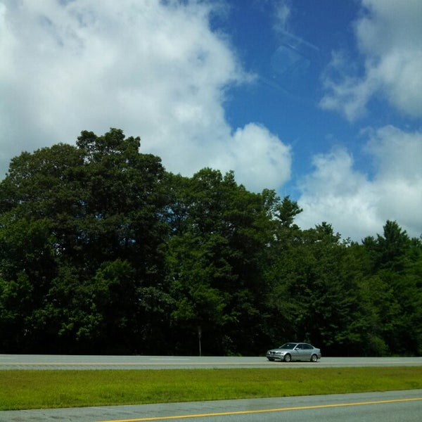 Photo taken at Seabrook Rest Area & Welcome Center by Jasmine Rose F. on 8/2/2013