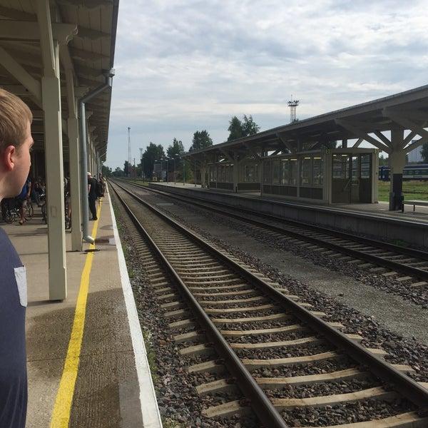 Photo taken at Tartu Raudteejaam by NeverwinterMoon on 8/9/2015