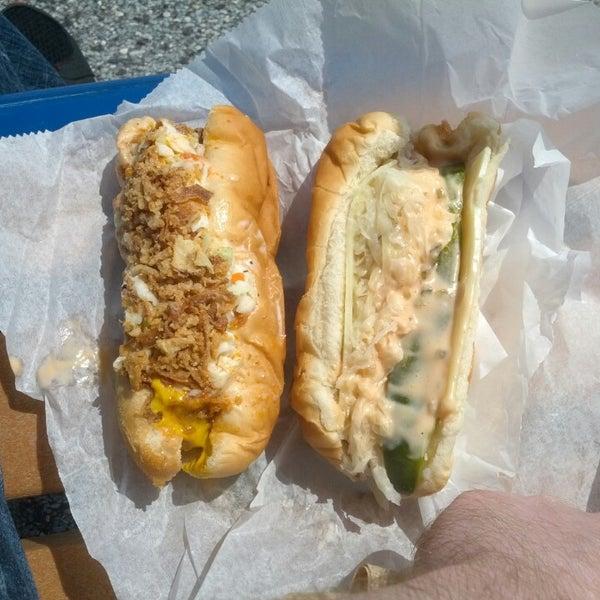 Photo taken at Hotdog Tommy's by Joe on 5/17/2014