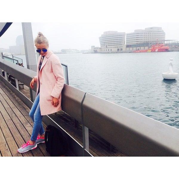 Photo taken at Marina Port Vell by Iri N. on 3/22/2015