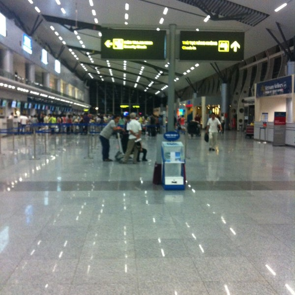 Photo taken at Tan Son Nhat International Airport (SGN) by Kaln P. on 5/23/2013