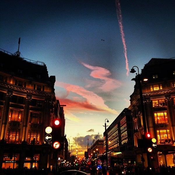 Photo taken at Oxford Street by Sean R. on 10/5/2013