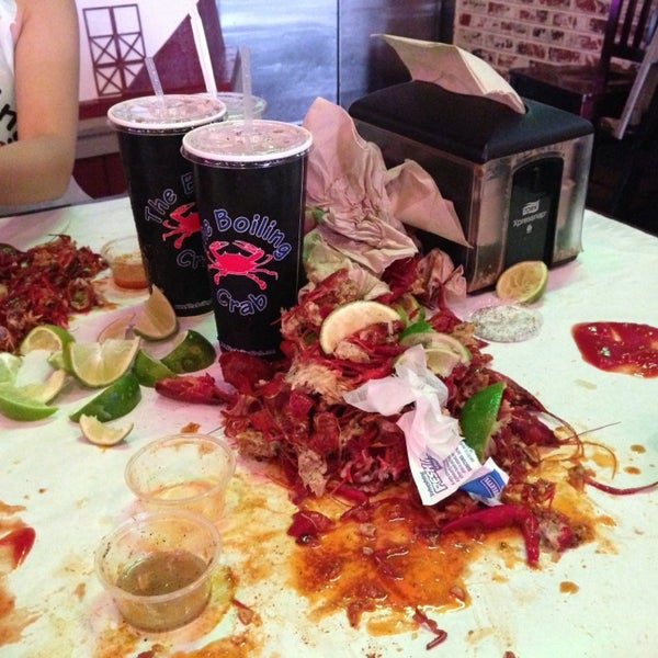 Photo taken at The Boiling Crab by Nancy N. on 6/25/2013