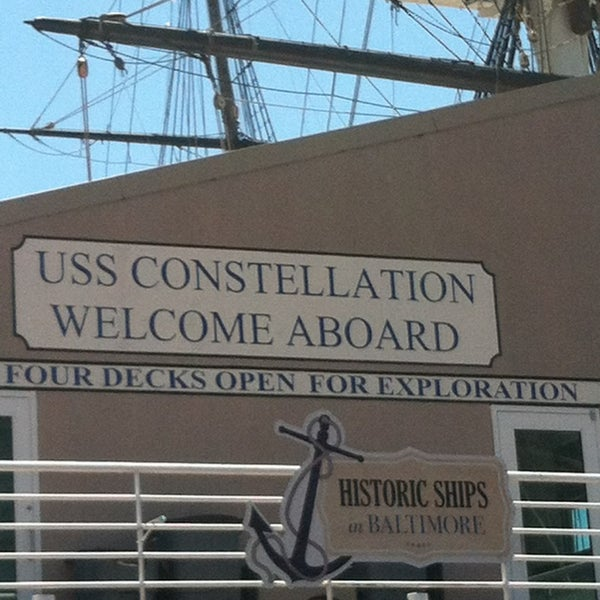 Photo taken at USS Constellation by Elizabeth C. on 5/26/2013