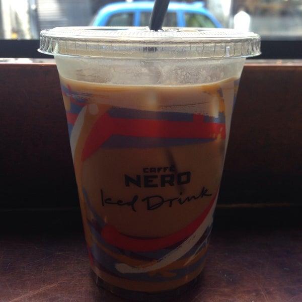 Photo taken at Caffè Nero by Dmitriy G. on 5/15/2014